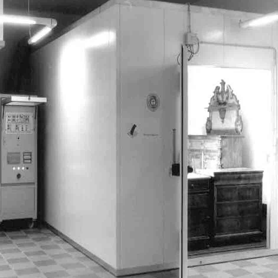Klimakammer Holzwurmbekämpfung