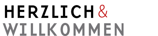 Herzlich und Willkommen Logo