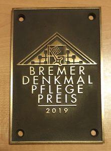 Denkmalpflegepreises bremen Bremer Denkmalpflegepreis 2019