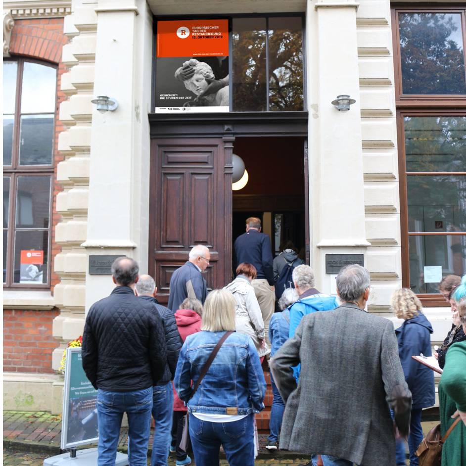 Einlass Tag der Restaurierung in Bremen
